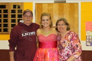 Dad, Paulina and Mom