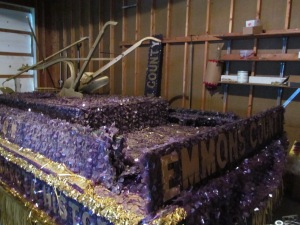 Emmons County float