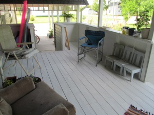 Same porch after.