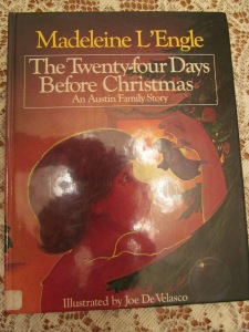 Here is the book. I just love this Christmas story.