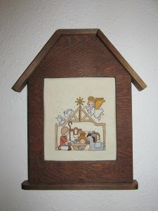 Nativity counted cross stitch