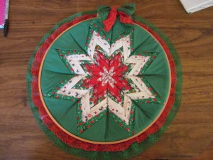 Star quilt wall hanging