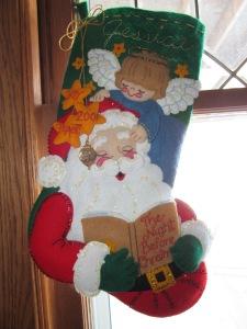 Jessica's stocking