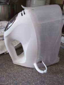 Hand mixer from Jessica. This is a deluxe, and has already made great divinity, seen below.