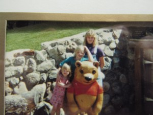 You were a Pooh girl from day one.