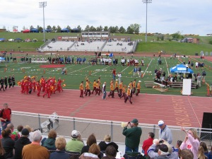 Linton-HMB at state track meet several years ago.