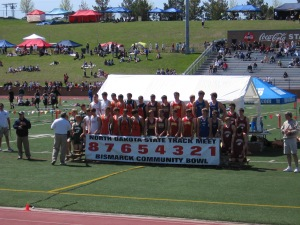 I think this was the 4x200 Relay team.