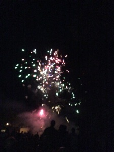 Fireworks in Hague.