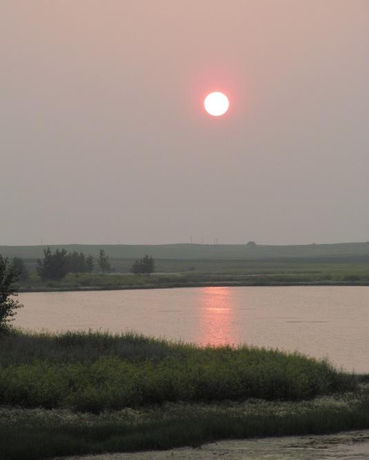 Sunset July 9, 2014