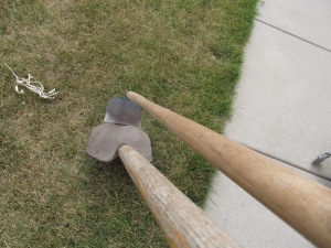 Here is a story. I had to use these tools to remove a lovely creature present from the driveway today.