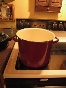 New stock pot