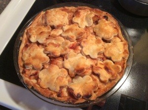 Paulina's apple pie. Oh was it good.