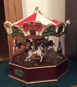 Merry-go-round from Aunt Glenda.