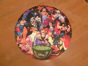 Disney Villain puzzle from Victoria