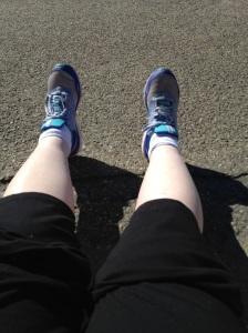 White legs, wow!