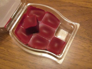 Cubes to put on your wax scent melter.