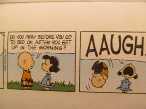 I can relate to Lucy this time.