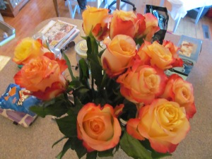 Roses from James