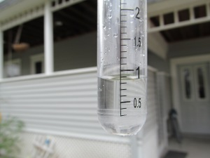 Rain gauge shows more than we thought.