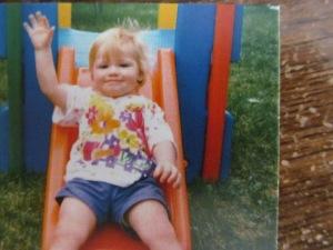 Paulina about age 3.