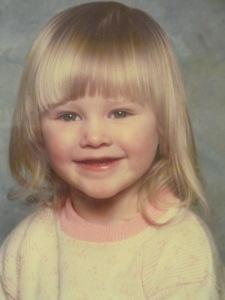 Jessica age 1 or 2