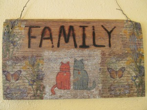 Family is what counts