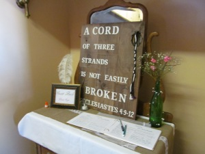 A marriage cord