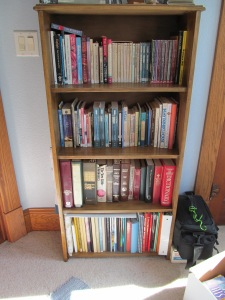 Bookshelf for my church books.