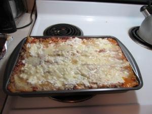 Pan of lasagna!
